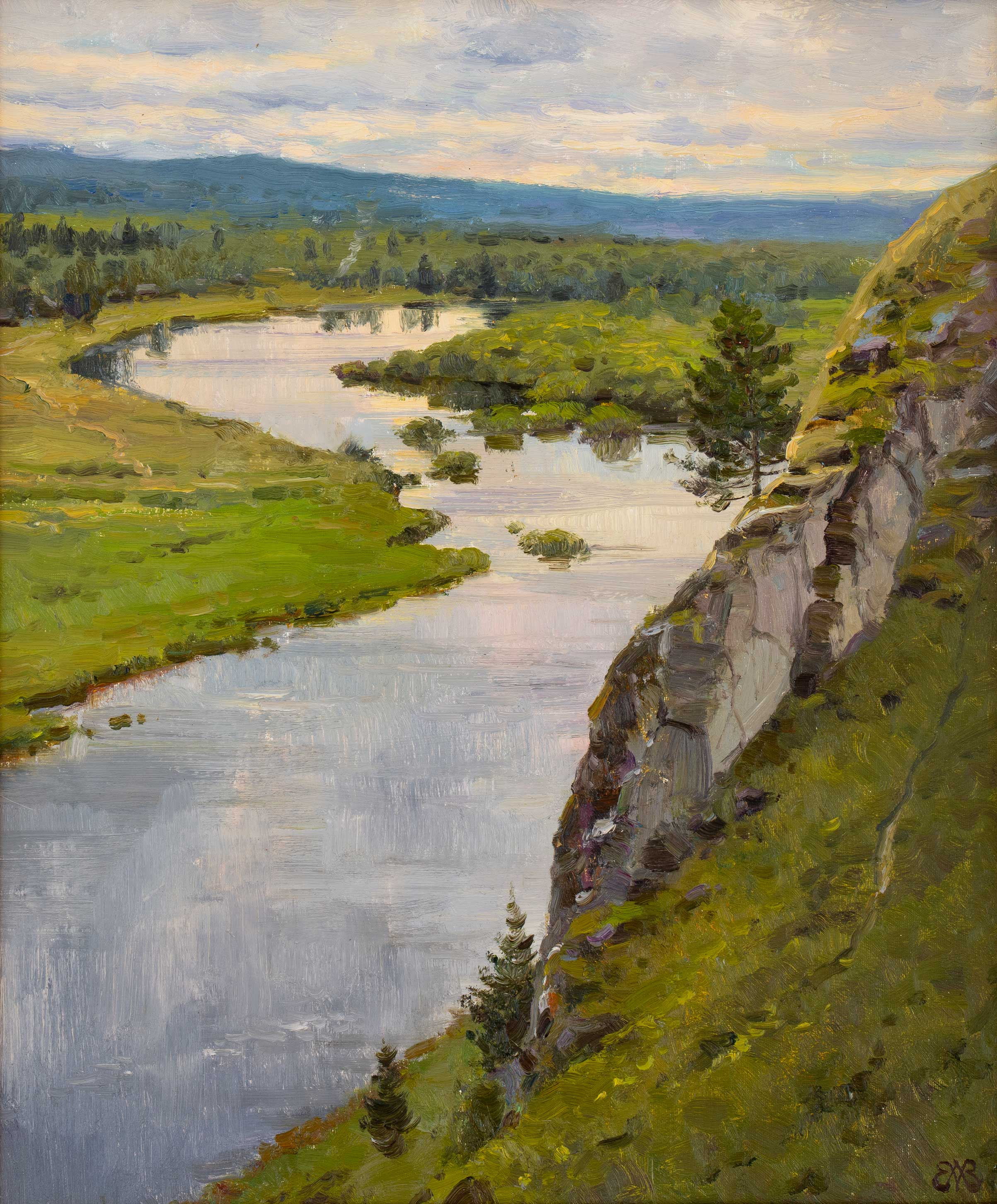 In Chusovoy, Alexey Efremov, Buy the painting Oil