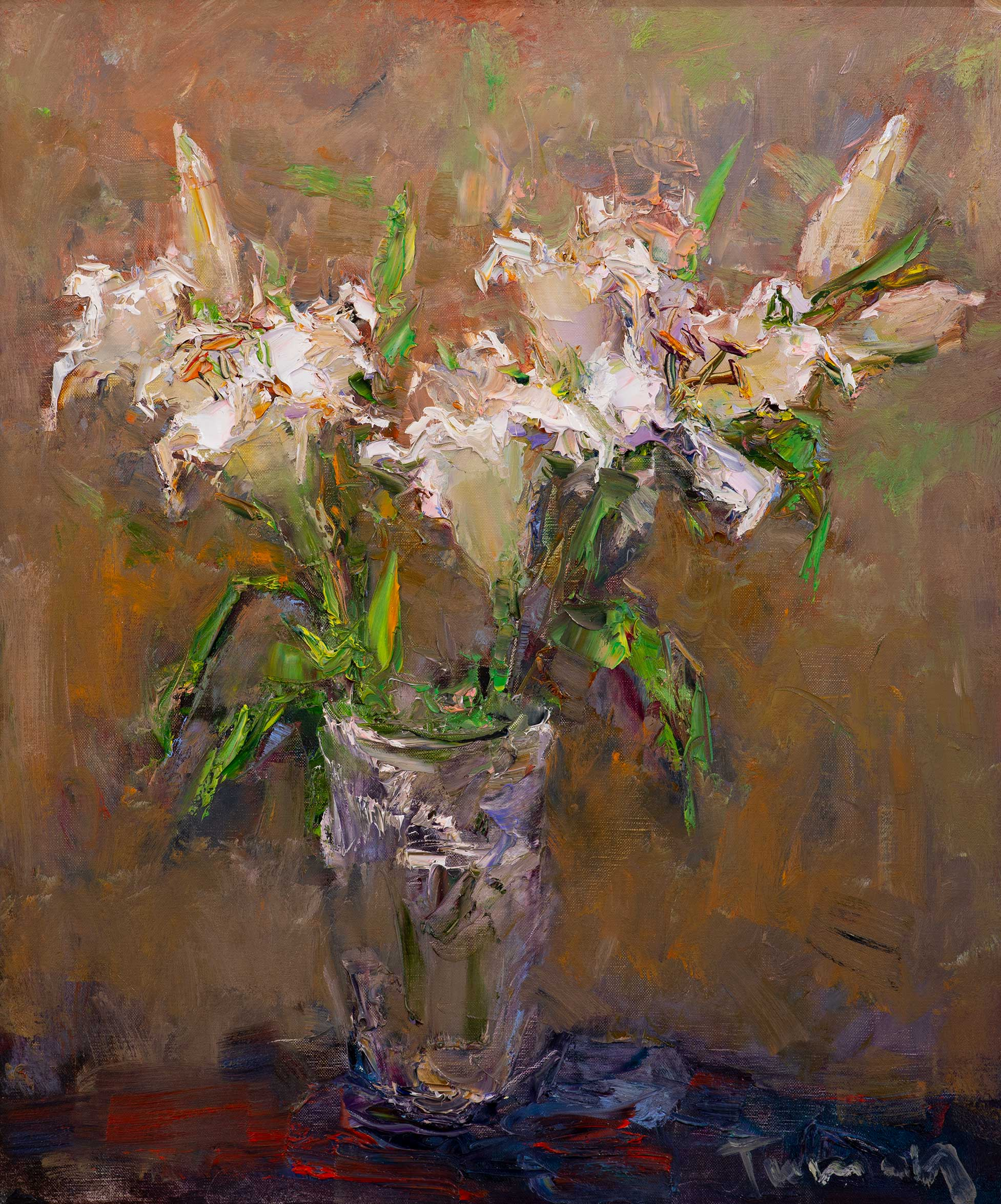 Lily, Tuman Zhumabaev, Buy the painting Oil