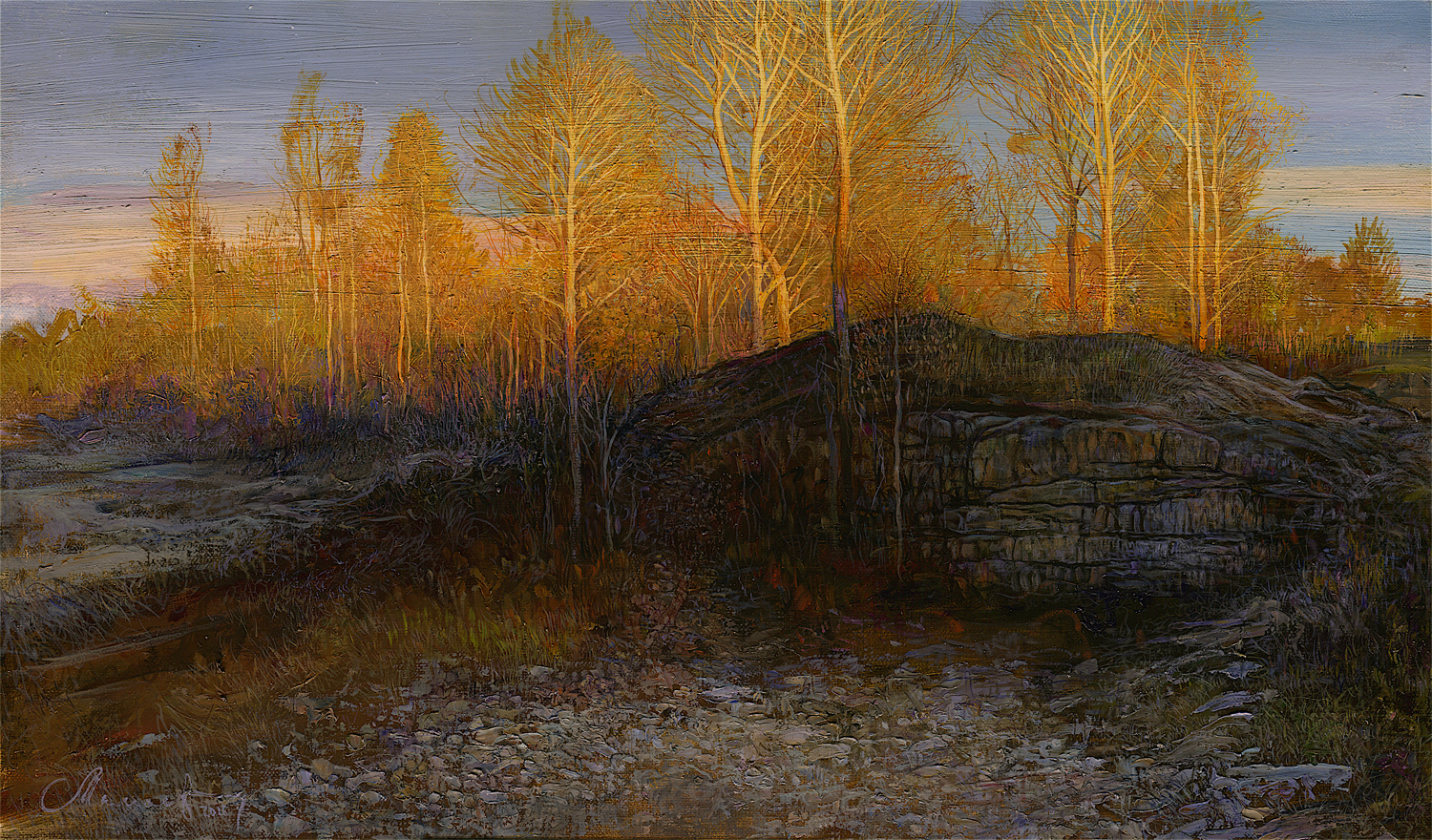 At sunset, Andrey Mamaev, Buy the painting Oil
