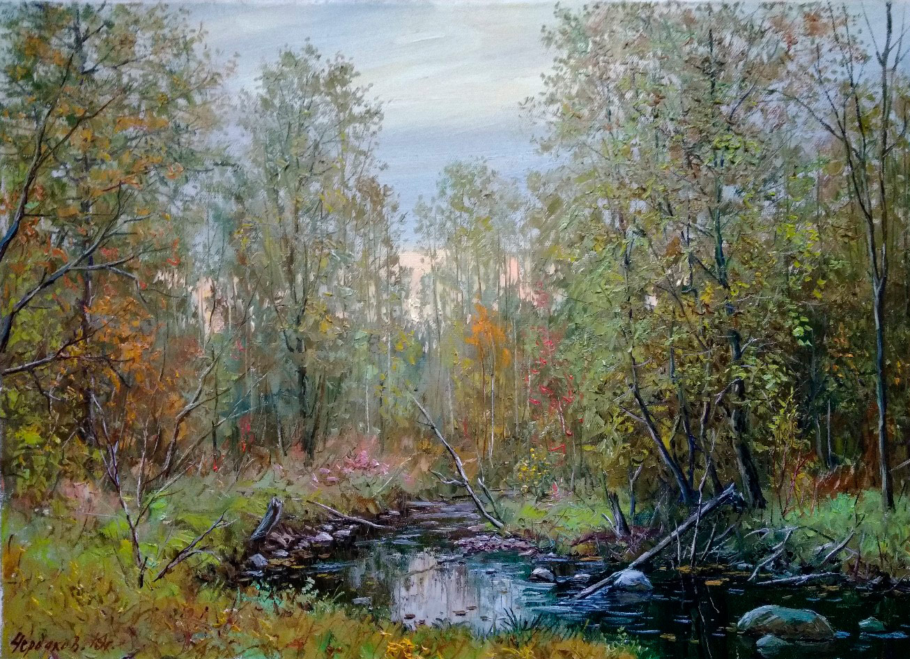 Early Autumn, Vyacheslav Cherdakov, Buy the painting Oil
