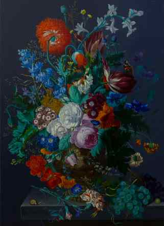Rachel Ruysch. Still life with flowers and fruit