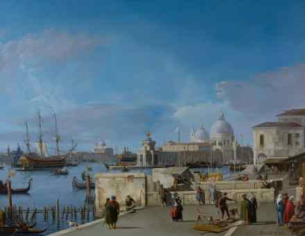 Canaletto. Entrance to the Grand Canal from the Molo, Venice