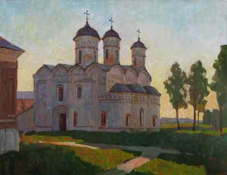Summer Evening. Rizopolozhensky Cathedral
